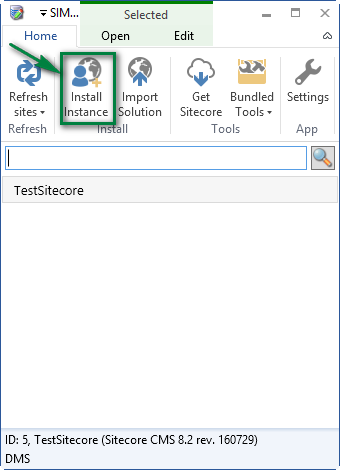 SIM-install-instance