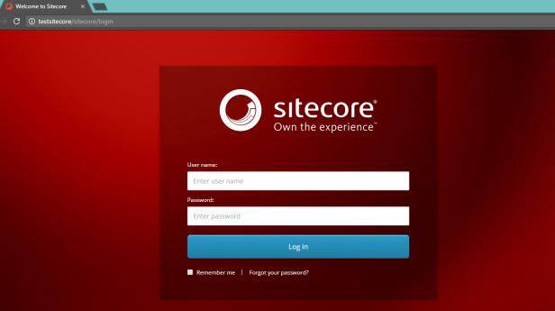 sitecore-login