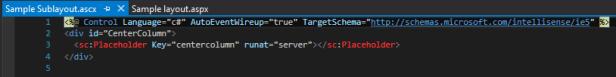 sublayout-code