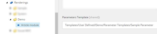 parameter-template